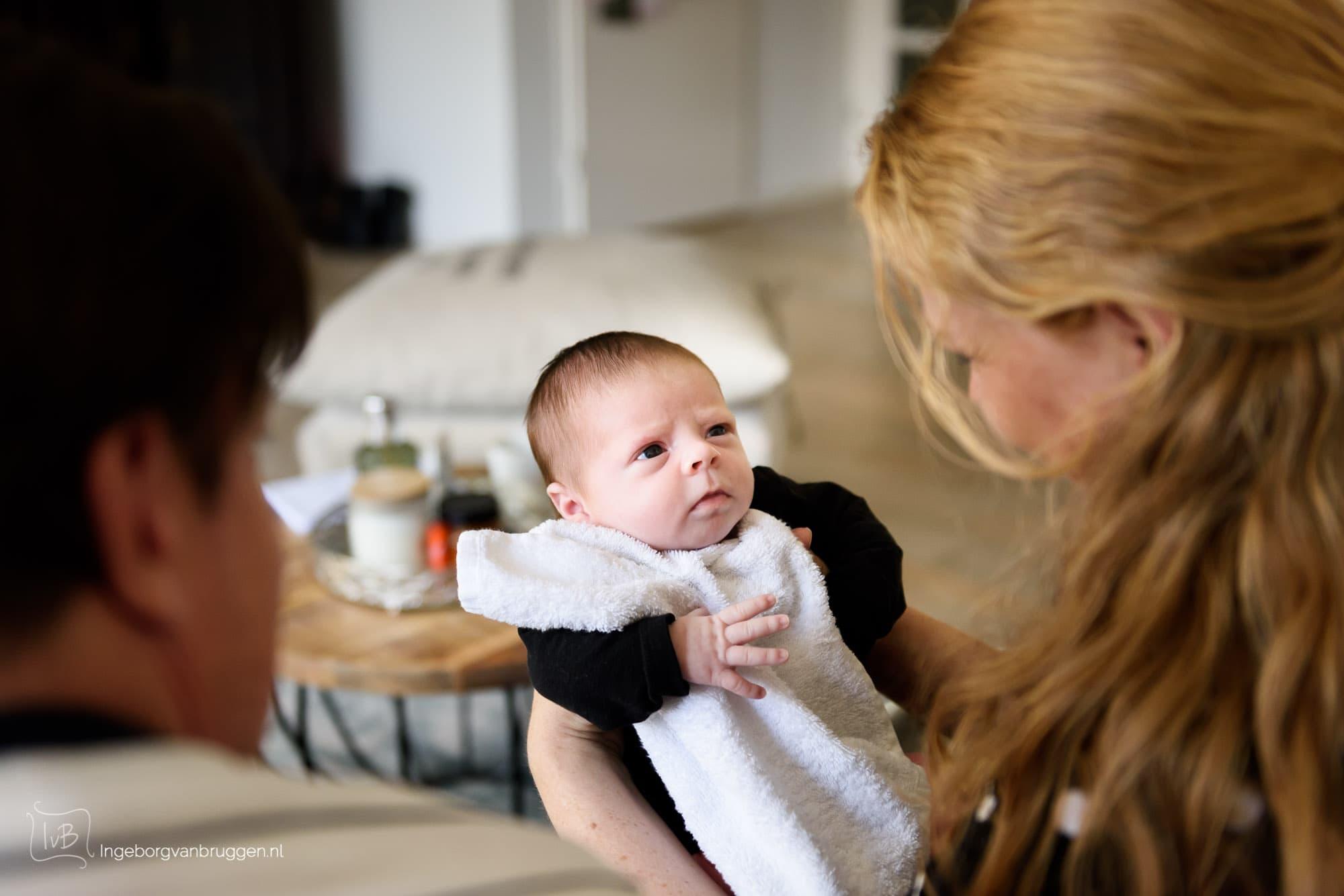 Hoe maak je foto's van je pasgeboren baby