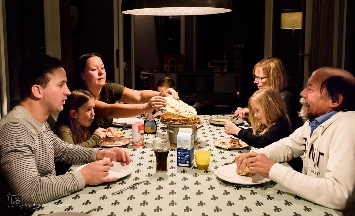 Zelf gezinsfoto's maken tijdens corona quarantaine