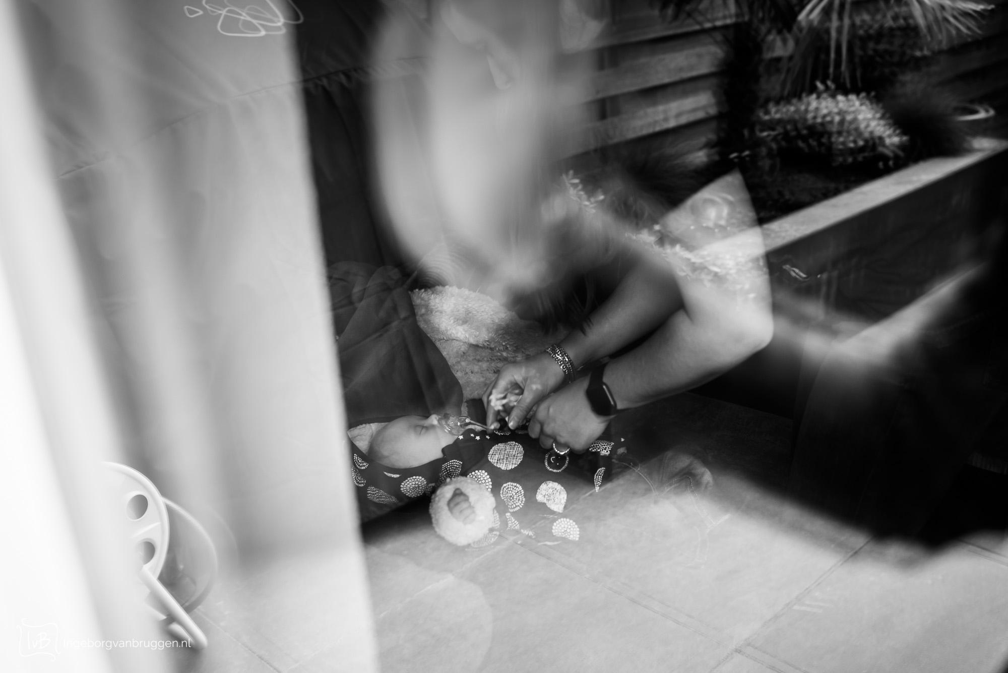 fotoshoot raambezoek in coronatijd