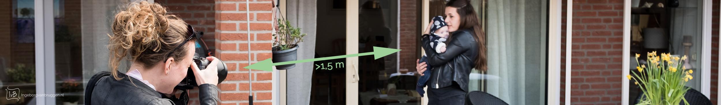fotoshoot met 1,5 meter afstand 9509