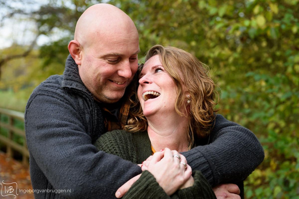 Fotoshoot met huwelijksaanzoek