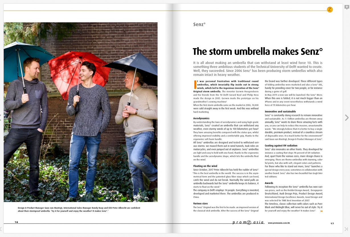 Redactionele portretten voor publicatie in magazine